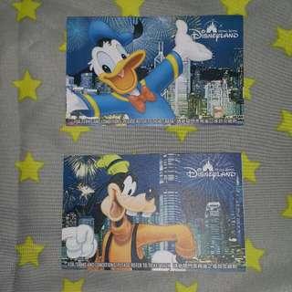 2009年迪士尼高飛狗唐老鴨入場券