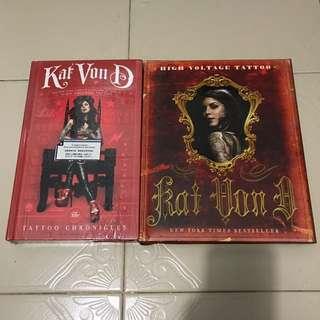 Kat Von D High Voltage Tattoo & The Tattoo Chronicles