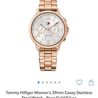 Authentic Rose Gold Tommy Hilfiger Watch