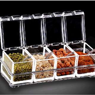 Clear Acrylic Seasoning Box