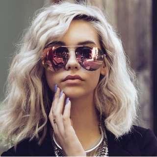 Quay X Amanda Steele Muse Sunglasses Gold