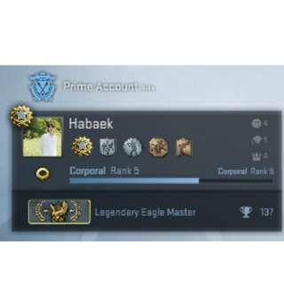CSGO LEM Account with Prime (Steam)
