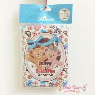 🐰香港迪士尼限定 達菲&雪莉玫 護照套