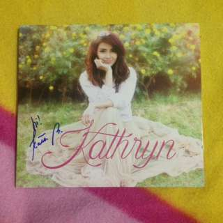 (SIGNED) Kathryn Bernardo Self Titled Album