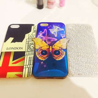 Casing Iphone 5 / 5s (3 pcs)