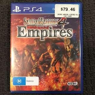 Samurai Warriors Empires 4