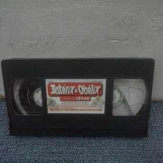 Kaset VHS Asterix Et Obelix Contré César