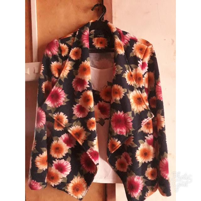 2in1 Sunflower Blouse