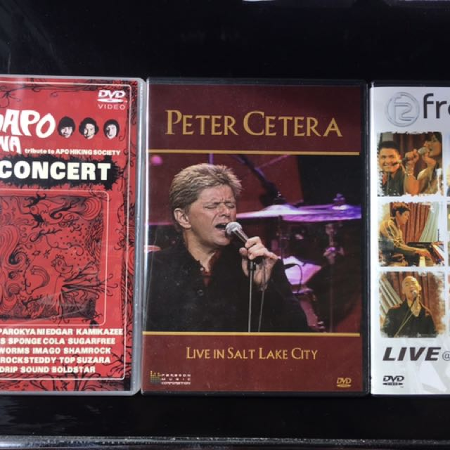 3 Original DVDs (Musical Package)