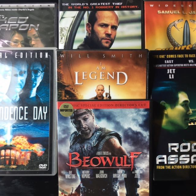7 Original DVDs (Action Package)