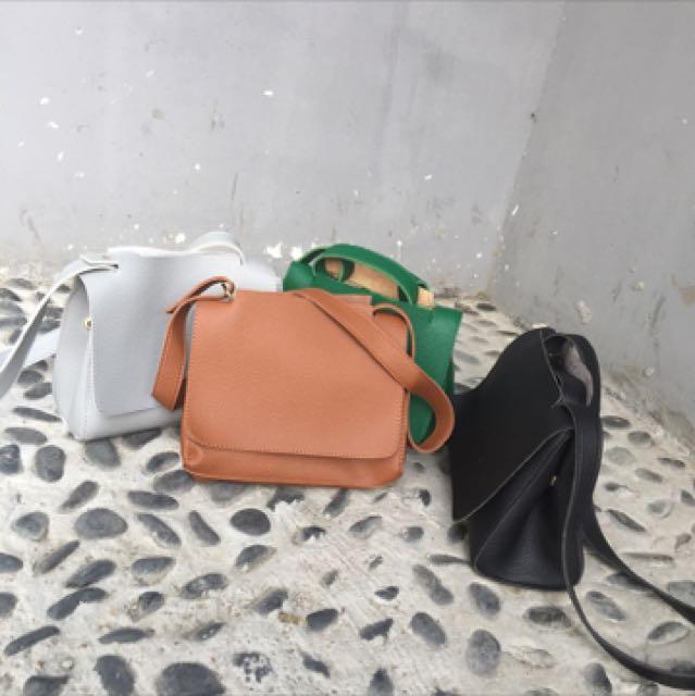 韓款 簡約設計手提包(可肩背)