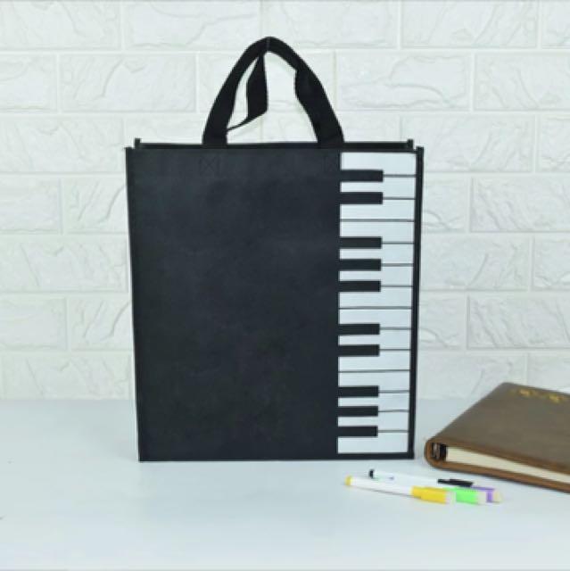 帆布 鋼琴/樂譜/鍵盤手提袋