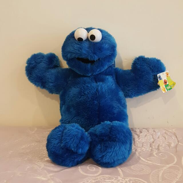 芝麻街 怪獸餅乾娃娃斜背包 (編號:175)