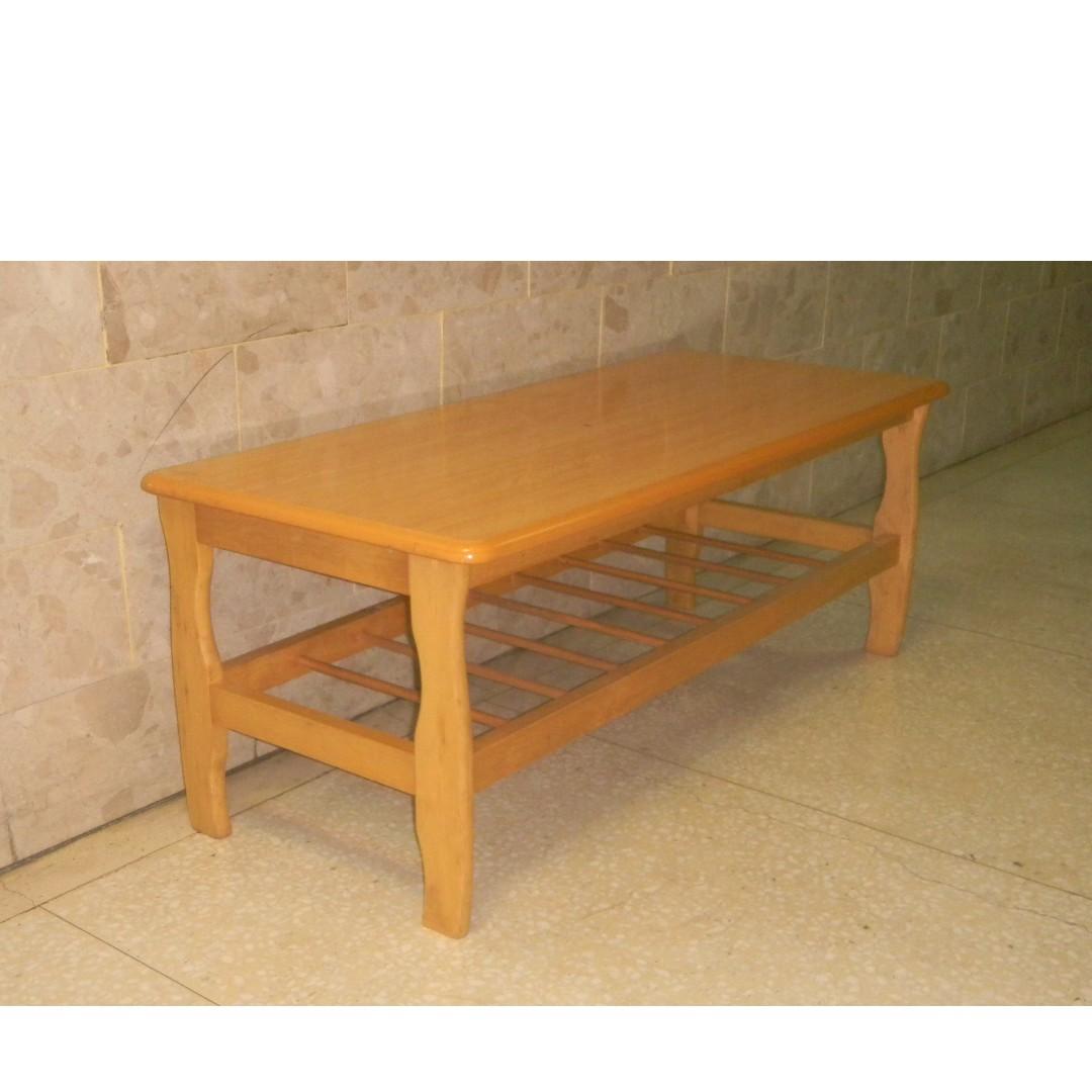 實木茶几 咖啡桌 長型 長方形