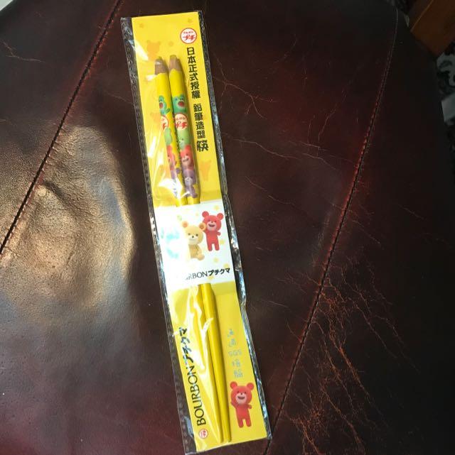#全新 Bourbon鉛筆造型筷