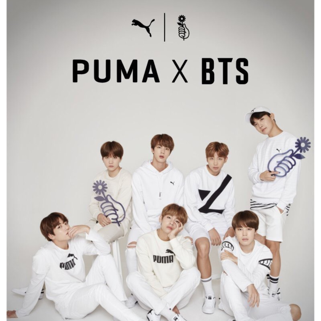MY GO  WW GO   PUMA X BTS COURT STAR Shoes 08429918d