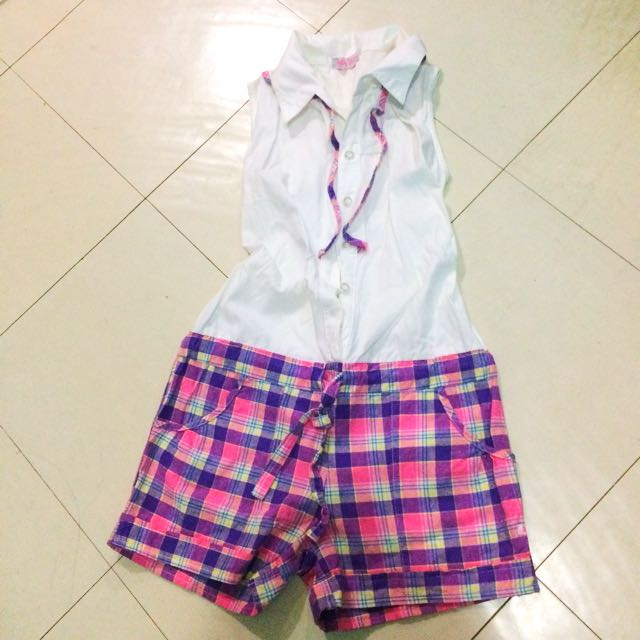 ( Php250 Only!!! ) Byloz Girls Jumpshort For Kids Size 10