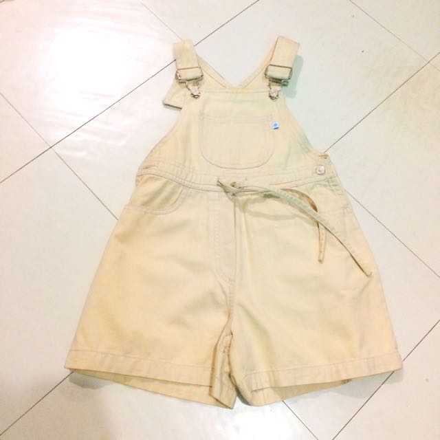 ( Php250 Only!!! ) Camp Beverly Hills Khaki Jumpshort For Kids Size10