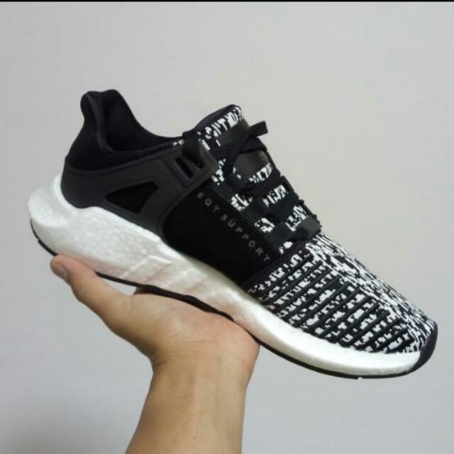 quality design 212cb c3a4f Adidas EQT Support 9317 Glitch Camo Black, Mens Fashion, Footwear on  Carousell