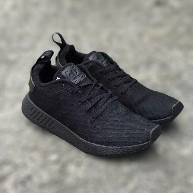 size 40 b2c39 86eb8 Adidas NMD R2 All Black