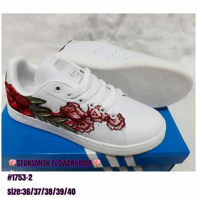 Adidas Stansmith flowerbomb