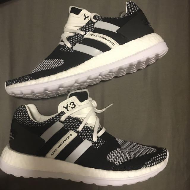88934b09c8498 Adidas Y3 Pure Boost ZG Knit Oreo Size 8