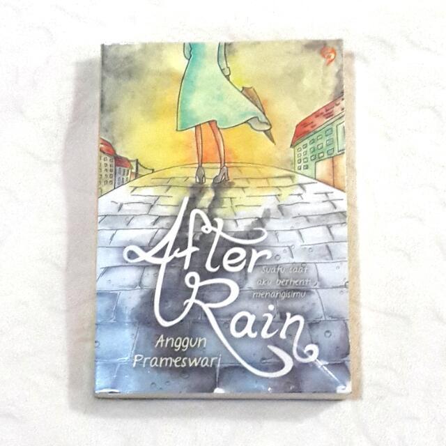 After Rain Novel