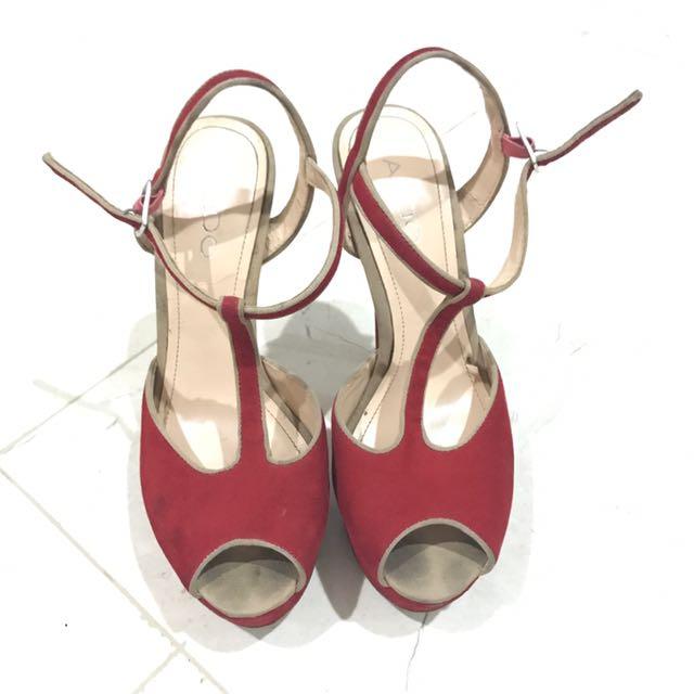 Aldo Red High Heels