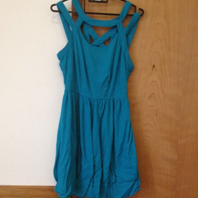 Ally Turquoise Dress