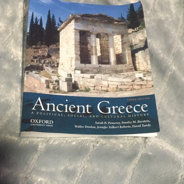 Ancient Greece (for ANCHIST 102)