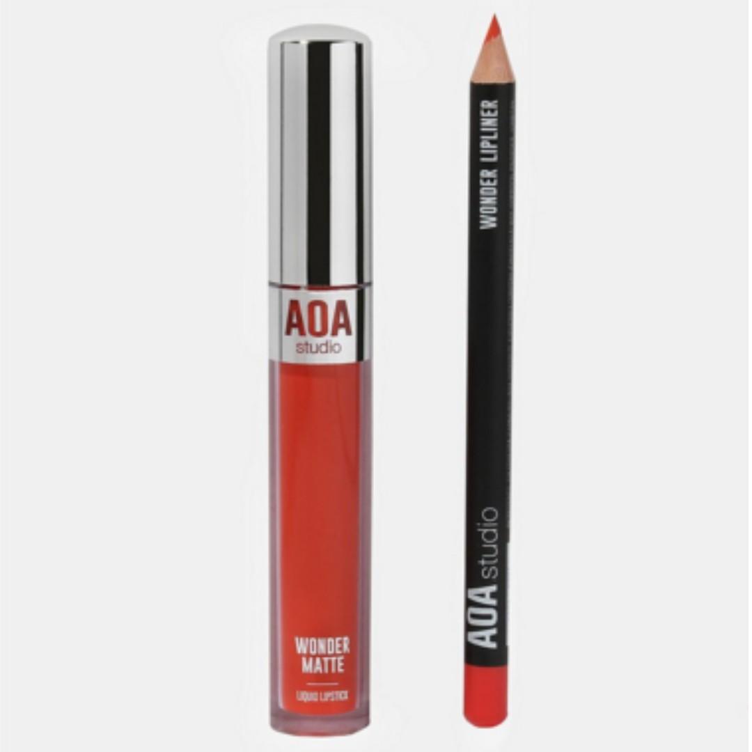 AOA Wonder Matte Liquid Lipstick- Doll
