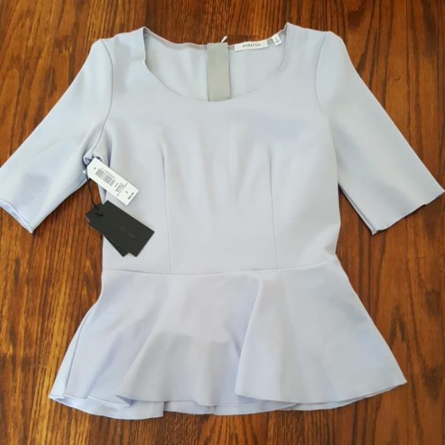 Aritzia Peplum Shirt
