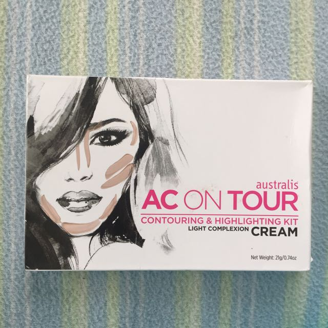 Australis AC on Tour Cream Contouring & Highlighting Kit
