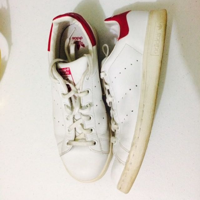 Auth Adidas Stan Smith Pink Tab