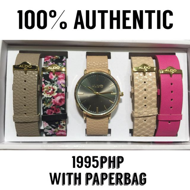 AUTHENTIC ALDO Interchangeable Watch