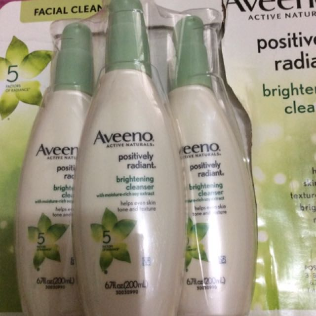 Aveeno Brightening Cleanser