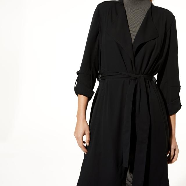 Babaton Quincey Jacket, Black, Size Small