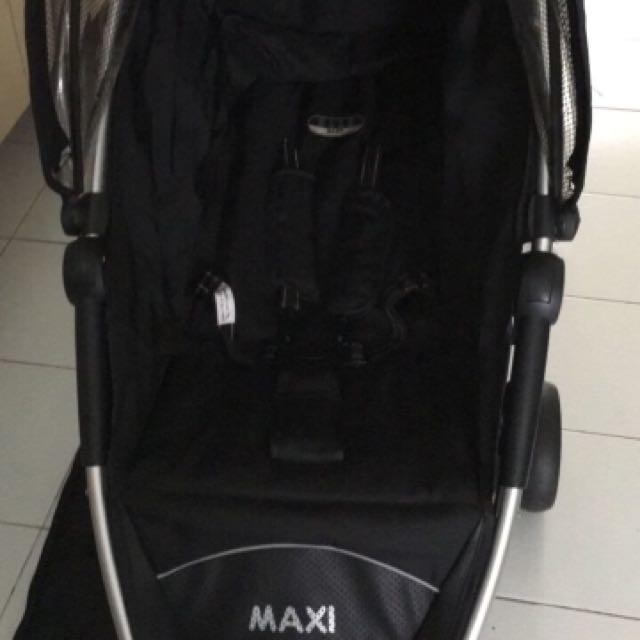 Babyelle Maxi Stroller Full Black