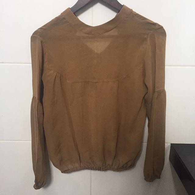 Baju Bahan Coklat