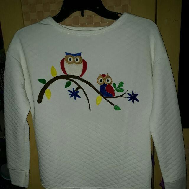 Baju Putih Owl
