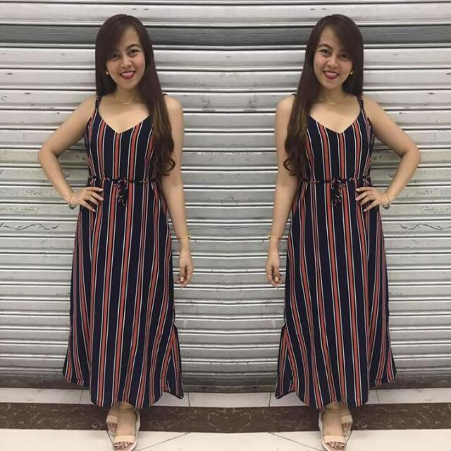 Bea Maxi Dress with Belt