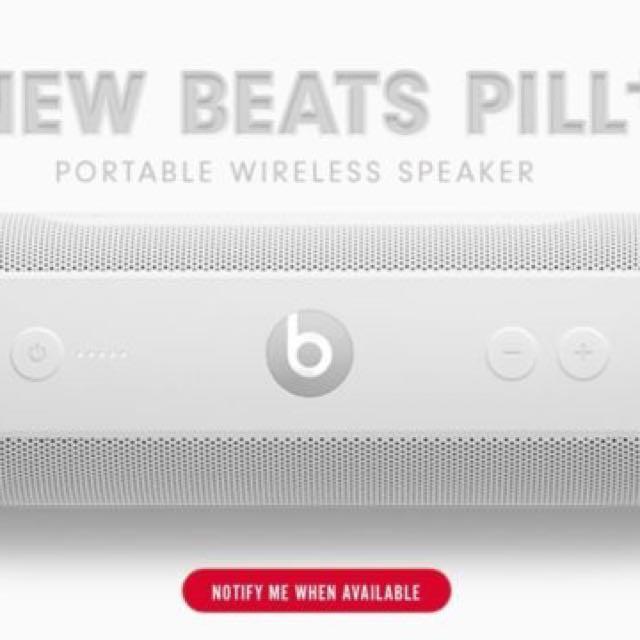 Beats Pill + 全白 藍芽 喇叭