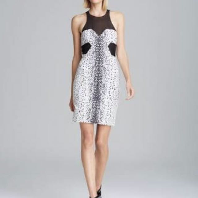 Bec & Bridge - Size 8 - Black and White Cocktail dress