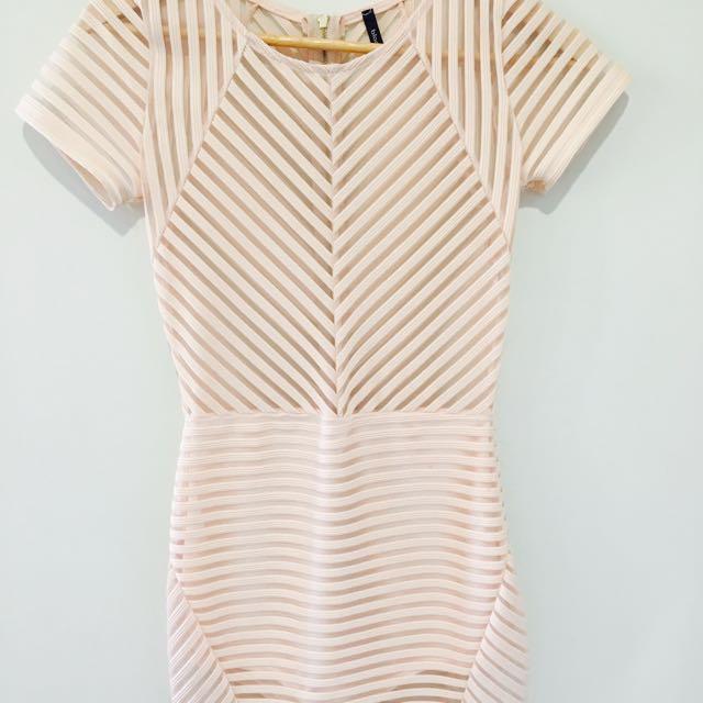 Blanq Pink Dress Size Small