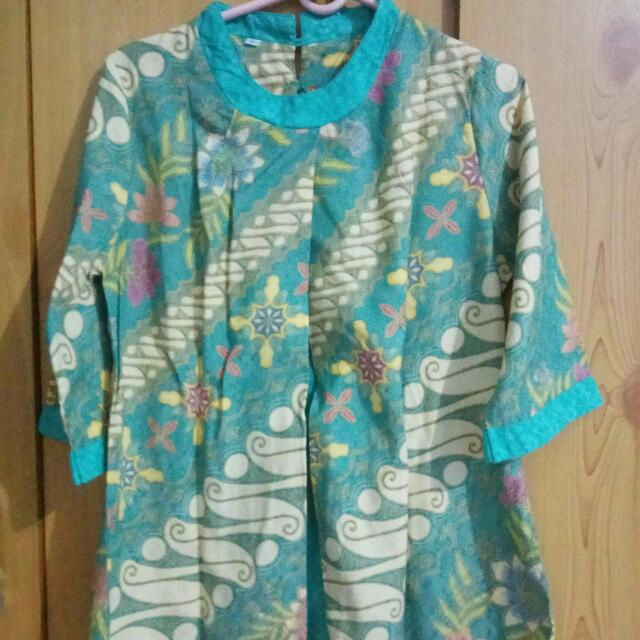 Blouse Batik 7/8 Sleeves