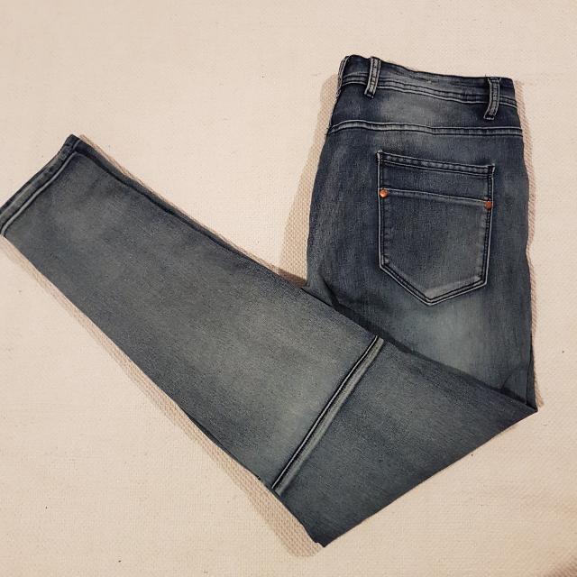 Blue Demin Skinny Jeans~16