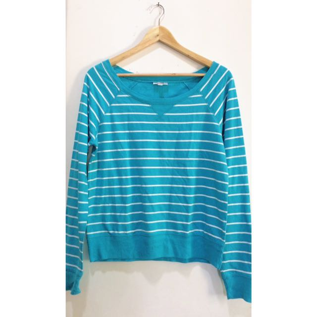 Blue Stripes Sweater