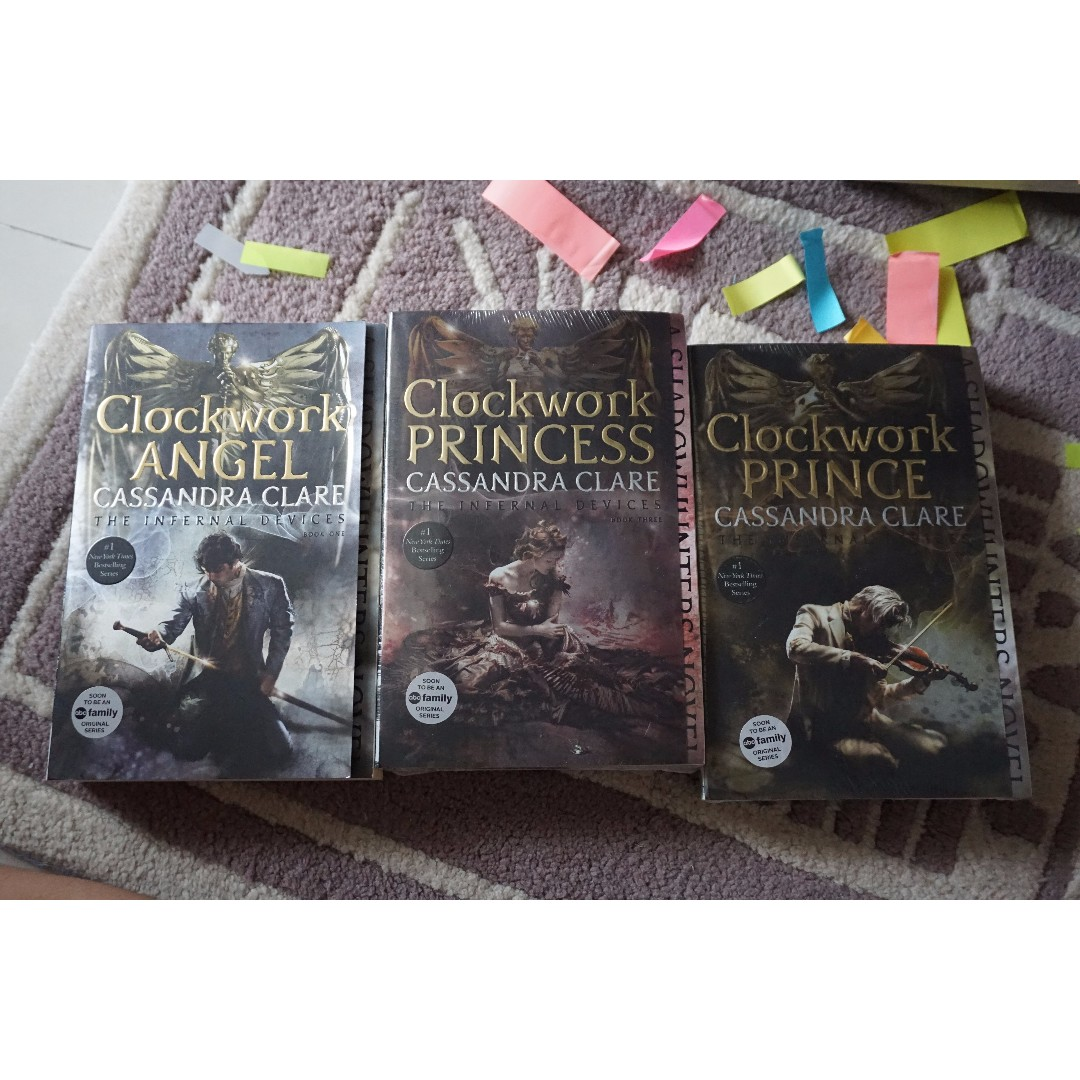 (Brand New) The Infernal Devices Trilogy