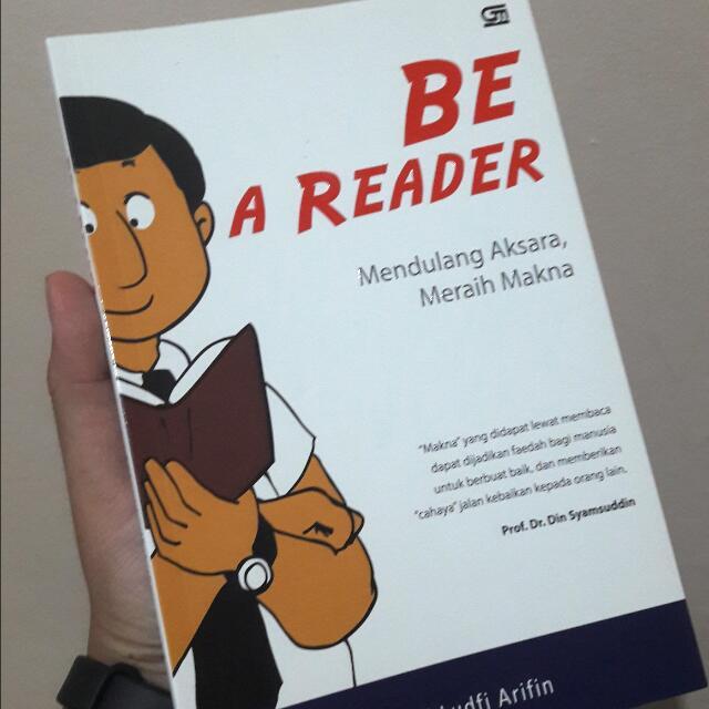 Buku Be a Reader