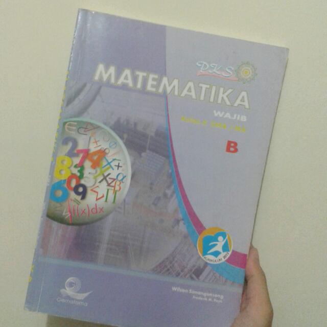 Buku Matematika Kelas X Sma